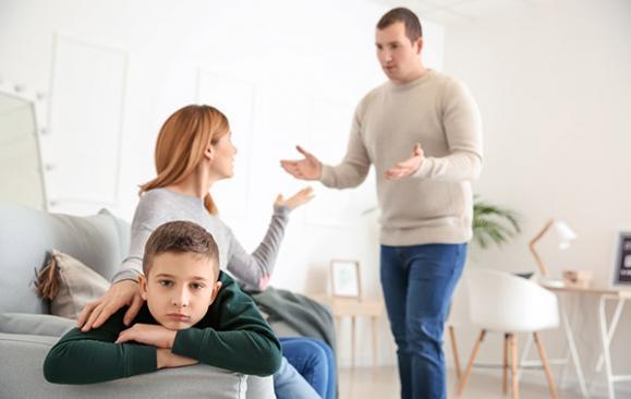 séparation couple et enfant