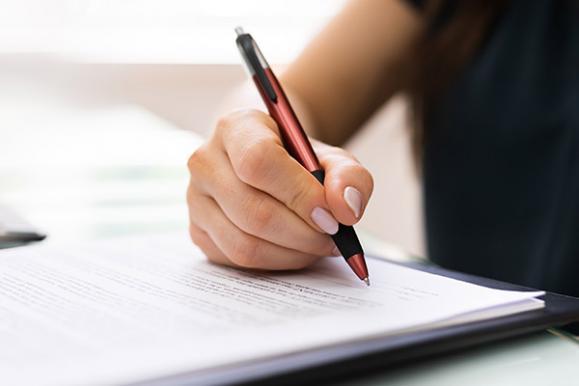 signature document